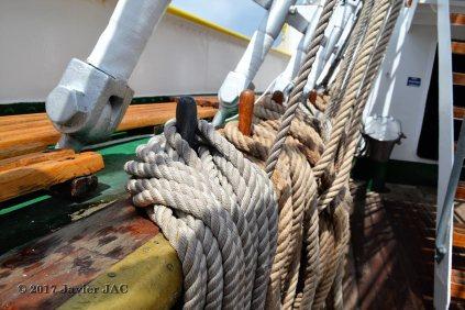 El Velero Rumano Mircea es un velero del tipo barca de tres mástile (50)