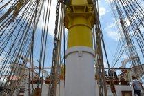 El Velero Rumano Mircea es un velero del tipo barca de tres mástile (55)