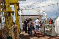 El Velero Rumano Mircea es un velero del tipo barca de tres mástile (60)