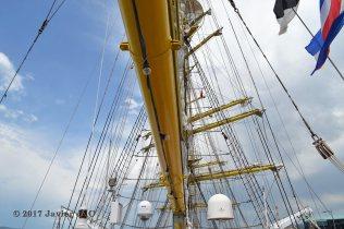 El Velero Rumano Mircea es un velero del tipo barca de tres mástile (62)