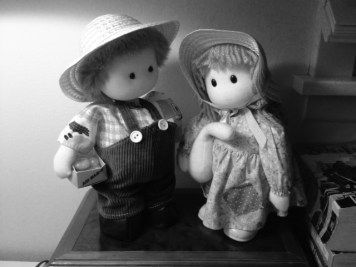 couple of old dolls