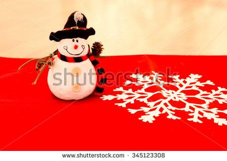 stock-photo-snowman-ornament-for-christmas-345123308