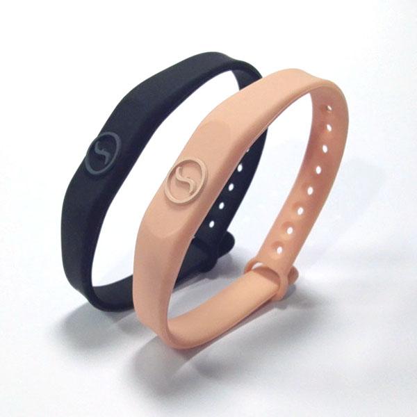 Rubber Custom Rfid Bracelet Rfid Wristband Silicone Mifare