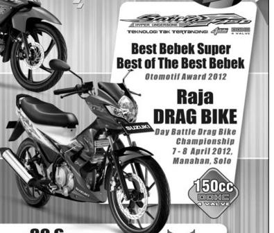 Satria Fu Raja Drag Bike Cxrider Com