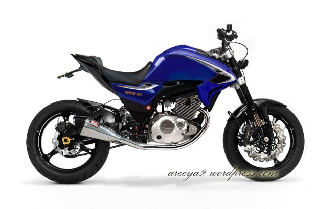 Konsep modifikasi suzuki thunder 125 fighter