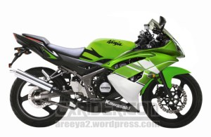 modifikasi ninja 150 rr r6