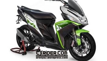 Konsep Modifikasi Yamaha Mio M3 Street Touring Cxridercom