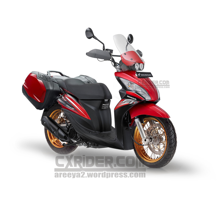 Modifikasi Honda Spacy Simple For Touring Cxrider Com
