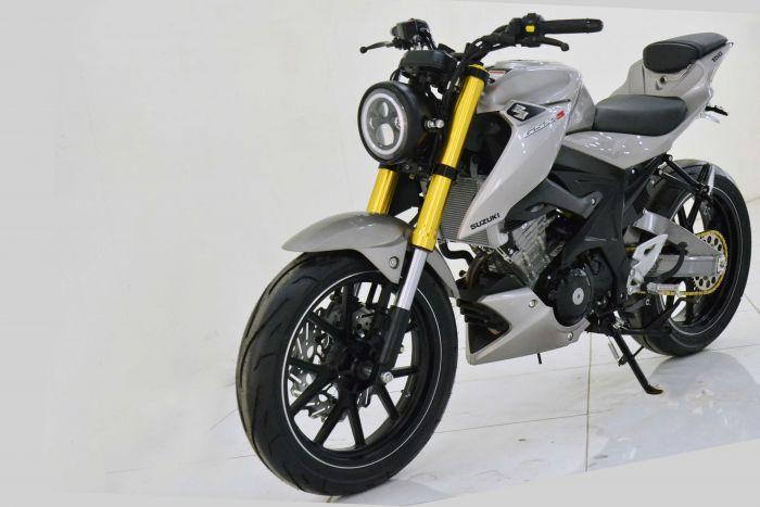 Modifikasi Suzuki Gsx S150 Simple Streetfighter Cxrider Com