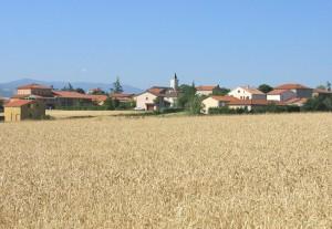 St Jean de Touslas, mon village