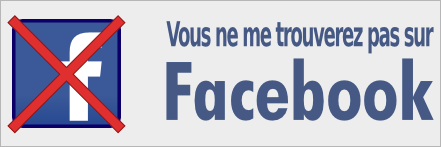 Facebook ? Non, merci.