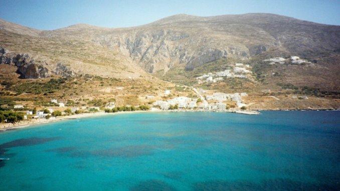 Amorgos : la baie d'Aigiali
