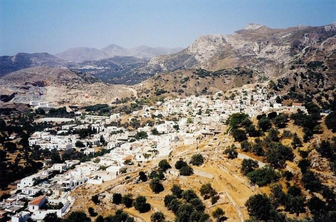 Naxos : au coeur de la Grèce profonde, Filoti, un air de Luberon...