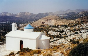 Naxos : l'église de la « Panaghia tis Filotissas »