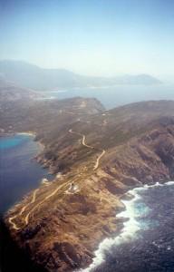 La Corse vue d'avion