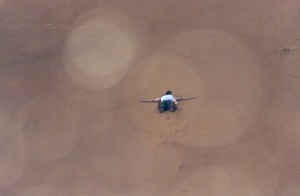 Descente de dune...