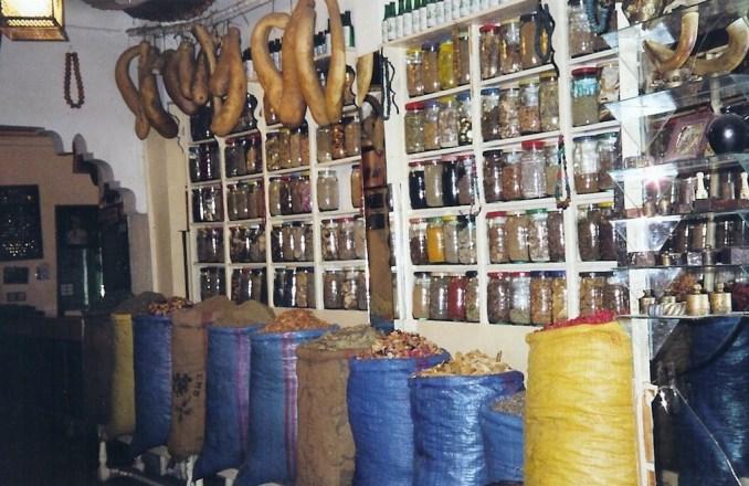 Herboristerie des souks de Marrakech