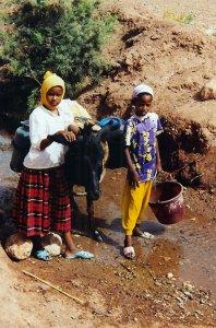 Jeunes marocaines à Aït Ben Hadou