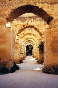 Meknès, les écuries du sultan Moulay Ismaïl