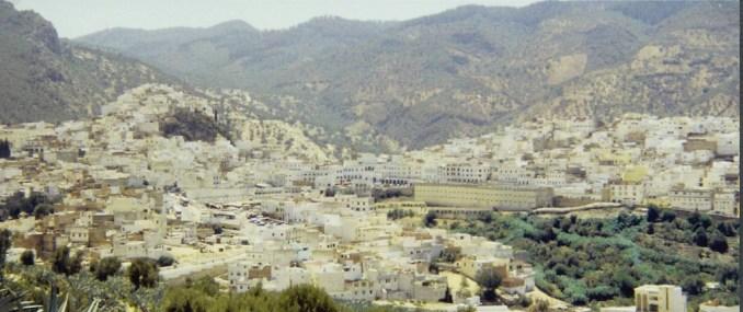 La ville sainte de Moulay Idriss