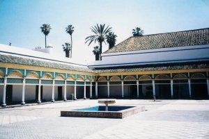 Palais de la Bahia (merci Lolo pour la photo)