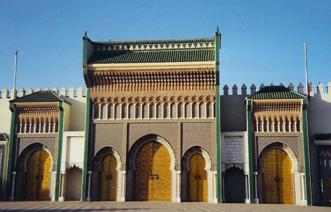 Le palais royal de Fès