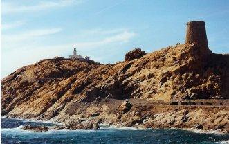 Bord de mer à l'Ile Rousse