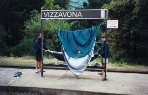 En gare de Vizzavona...