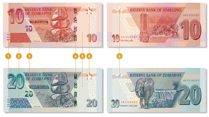 How The New $10 And $20 Banknotes Will Look Like