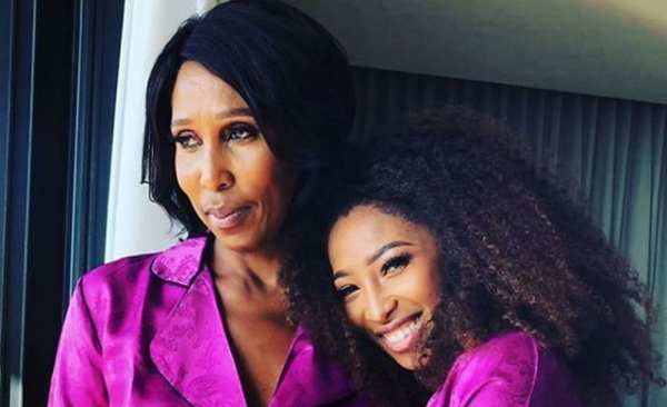 Black Coffee's ex wife and her mom