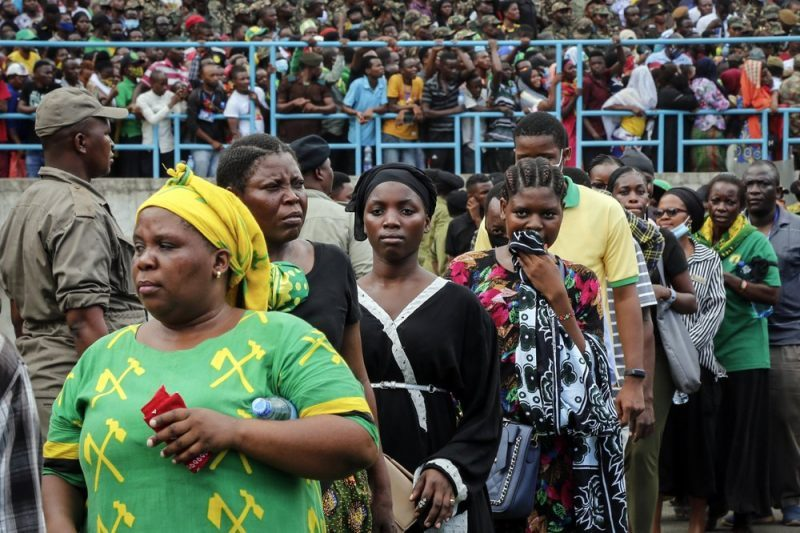 5 Die In Stampede To View Body Of Tanzania's Late President-iHarare
