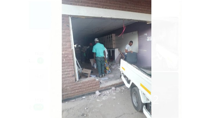 Four Injured As Learner Truck Driver Crashes Into Barbershop