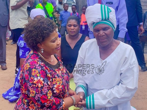First Lady visits selfless Mbare Gogo