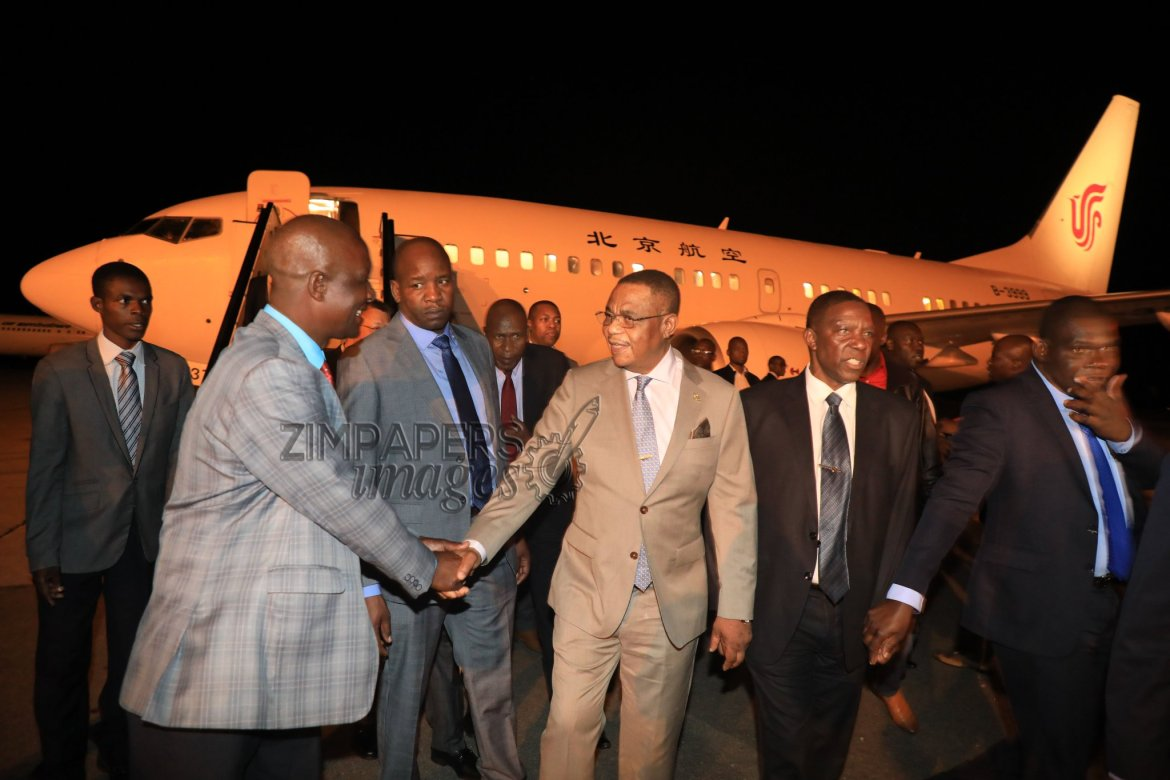 Vice President Constantino Chiwenga BACK in Zim