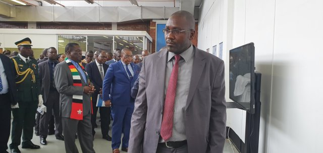 ED Tours TelOne's Factory Site