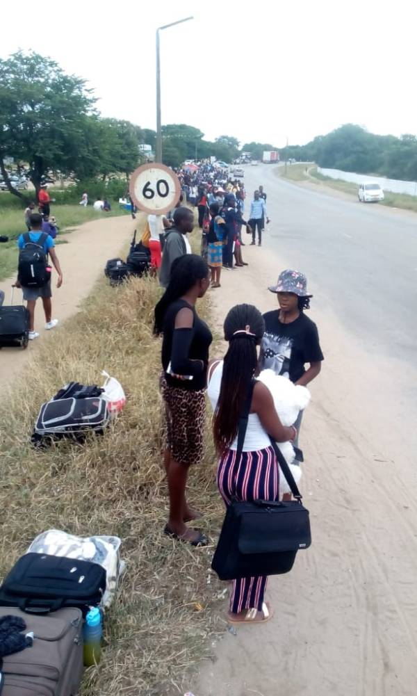 GZU Students Stranded