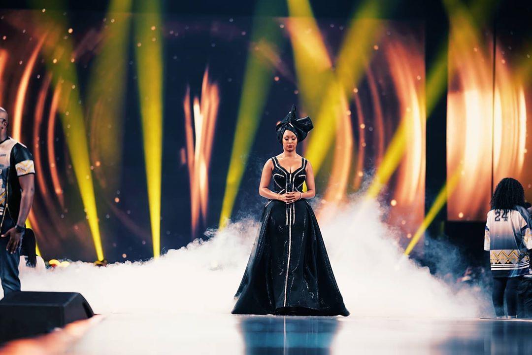 Minnie Dhlamini's 8 Stunning Dresses At DStv Awards