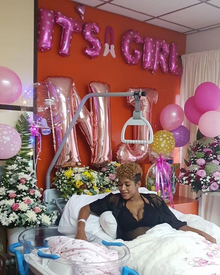 Rachel J Gives Birth