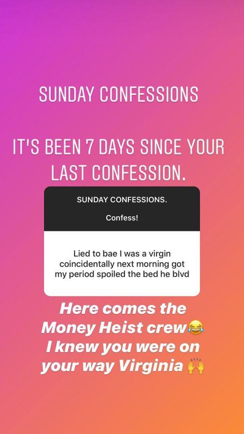 Sunday Confessions