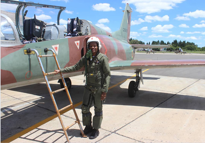 Zimbabwe's First Female Fighter Jet Pilot