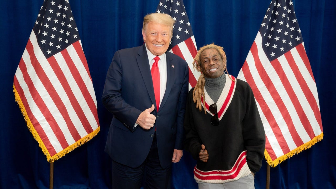 Trump pardons Lil Wayne, Kodak Black - hours before Biden's inauguration