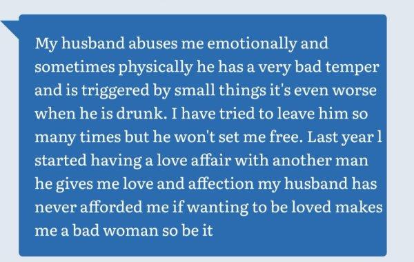 Here Is Why We Cheat: Married Zimbabwean Women Speak Freely