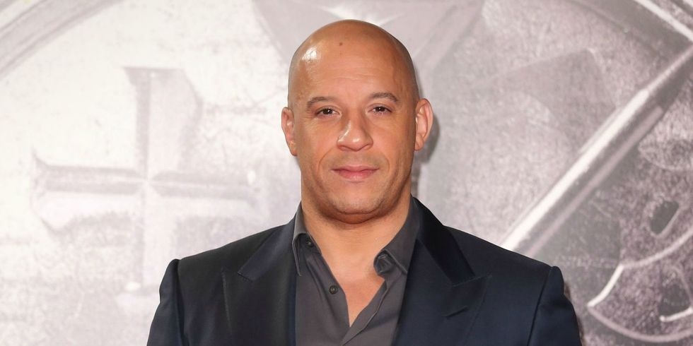 Rare Pictures Of Vin Diesel With Hair