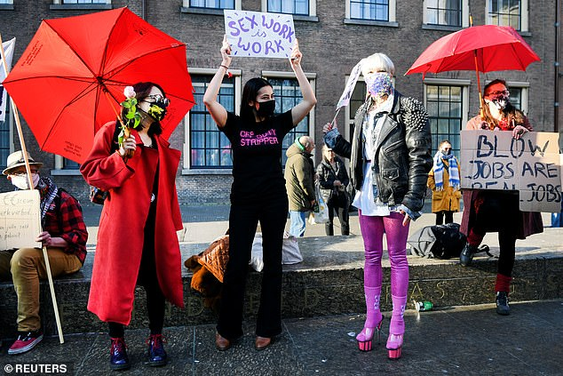 Dutch Sex Workers Protest Against Lockdown, Demand Right To Return To Work