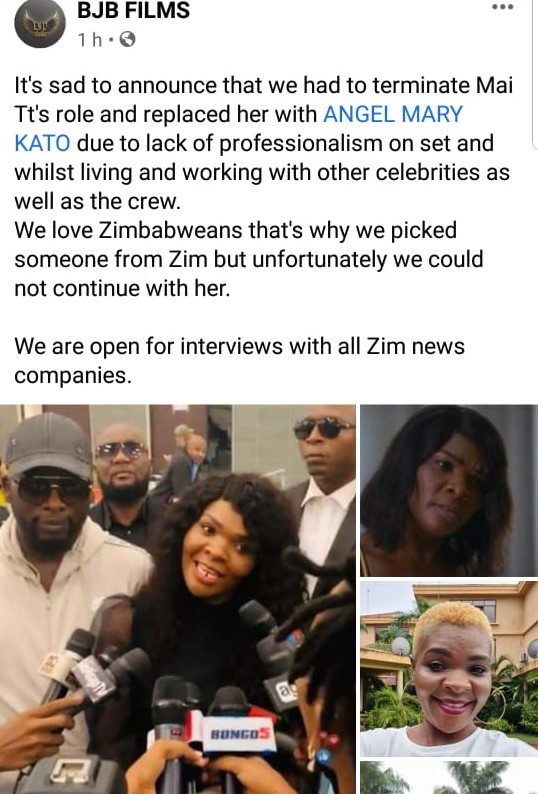 Mai Titi Hits Back After Being FIRED Via Social Media For Unprofessionalism