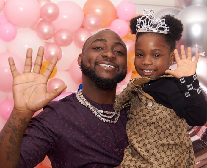 Davido Buys 6-Year-Old Daughter A Brand New Range Rover SUV As A Birthday Present-iHarare
