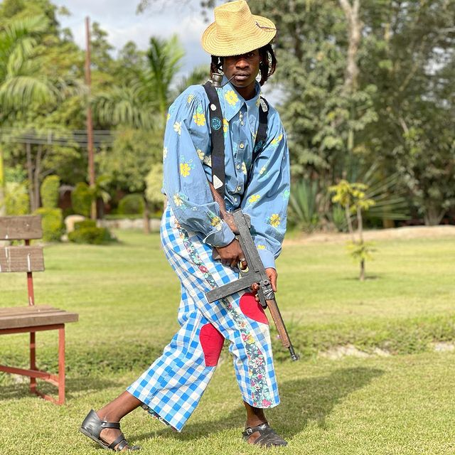 """""""It Is Art""""-Tocky Vibes Defends His Fashion Sense-iHarare"""
