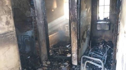 Pics: Fire Guts Kwekwe General Hospital Staff Quarters