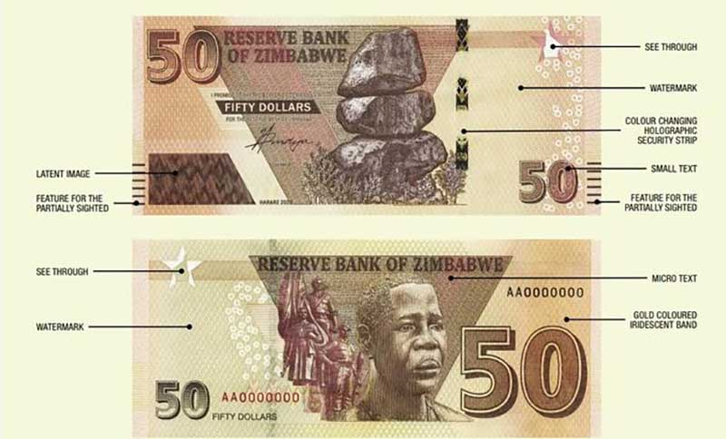 Zimbabweans React To Introduction Of $50 Bank Note