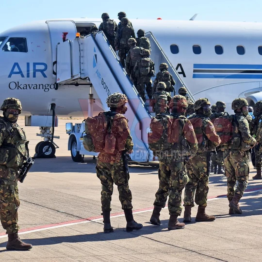 SA & Botswana Deploy Troops to Mozambique To Fight Islamic Insurgents